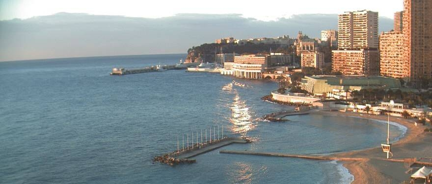 Unparalleled views over Monte Carlo's coast from Le Méridien Beach Plaza